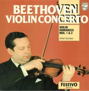 Beethoven Violin Concerto Arthur Grumiaux Philips