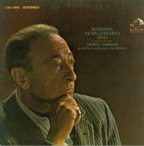 Beethoven Violin Concerto Heifetz RCA Victor LSC 1992