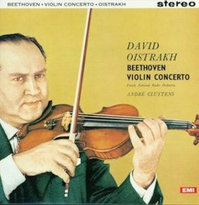 Beethoven Violin Concerto David Oistrakh EMI