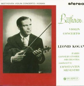 Beethoven Violin Concerto Kogan Columbia