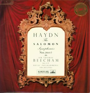 Haydn The Salomon Symphonies Thomas Beecham EMI