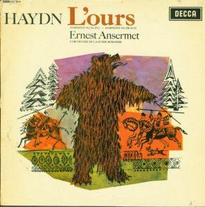 Haydn L'ours Ansermet Decca SXL 6020