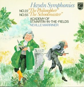 Haydn Symphonies Philips Neville Marriner