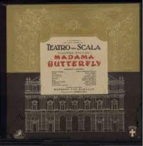 Teatro Scala Madame Butterfly Puccini Callas