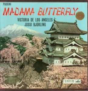 Madame Butterfly Victoria de los Angeles, Jussi Bjorling